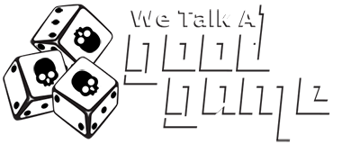 We Talk A Good Game Logo